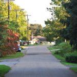 Neighborhood street in West Kittanning Borough