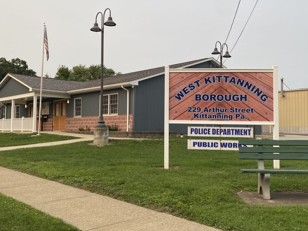 Police and Publicworks building in West Kittanning