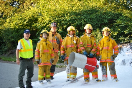 West Kittanning Firefighters - Training