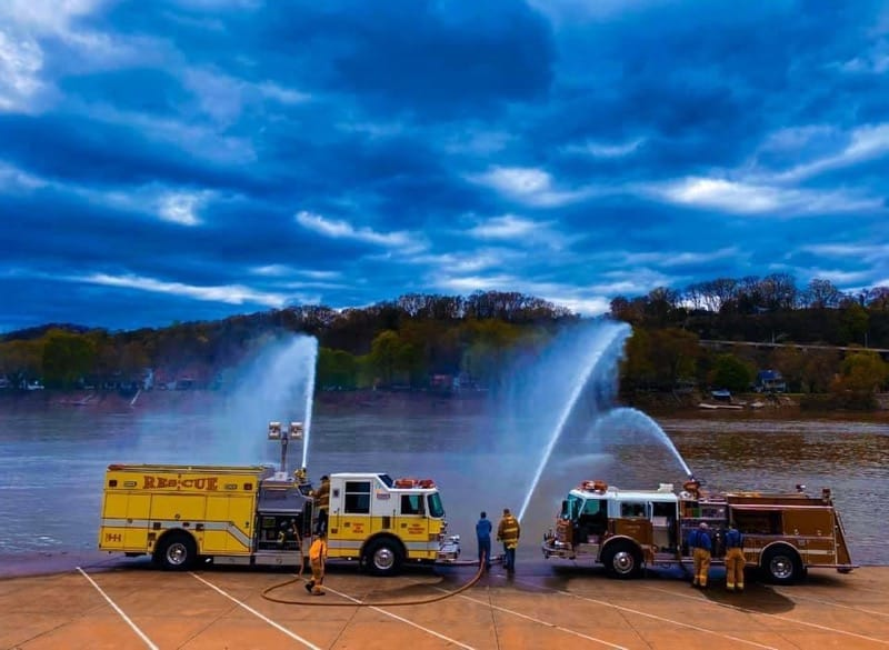 West Kittanning Fire Department Training